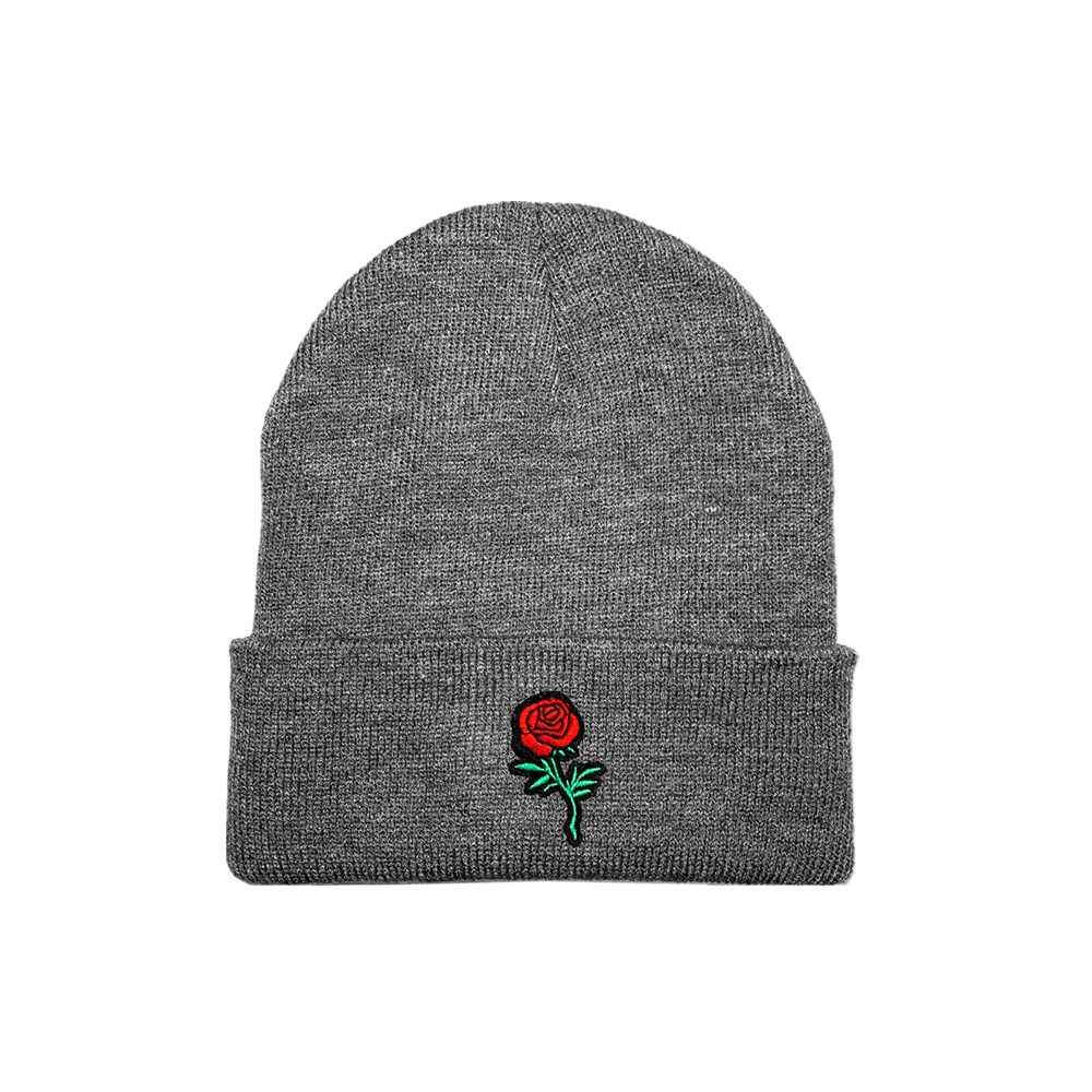 Beanie Roses Gvng Gris