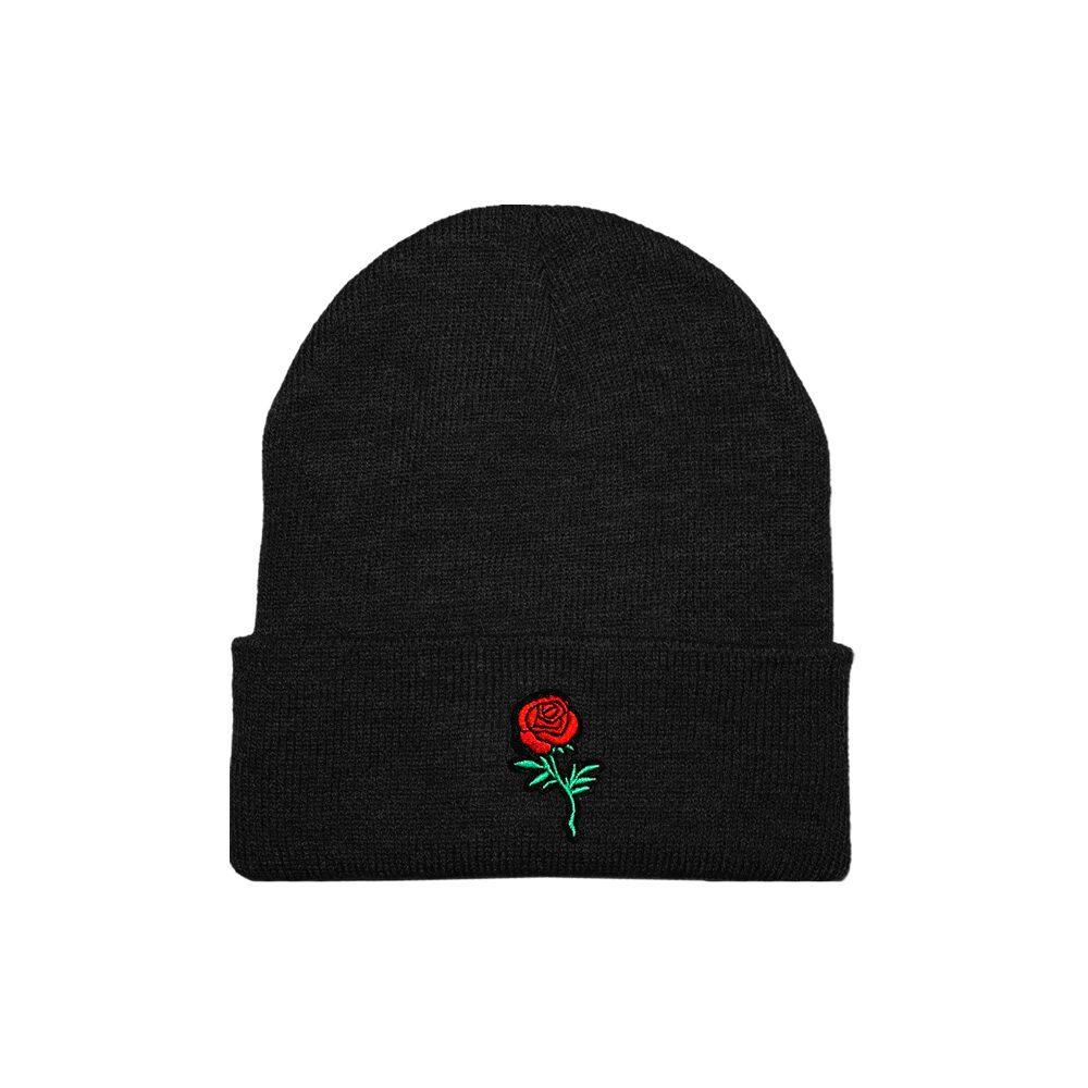 Beanie Roses Gvng Negro